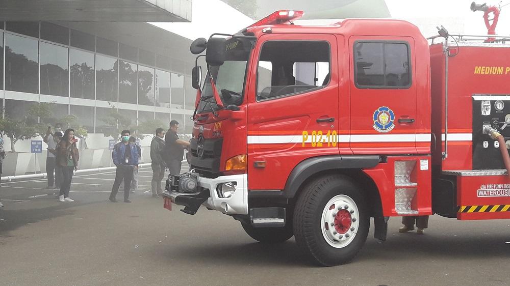 11 Mobil Damkar Dikerahkan ke DPR