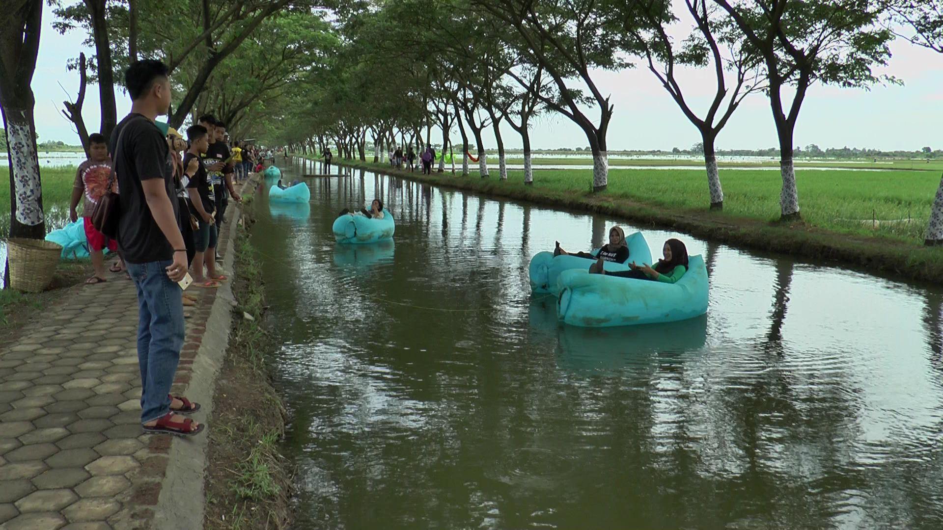 Menikmati Wisata Alam Tiban di Desa Krayapan Brangsong