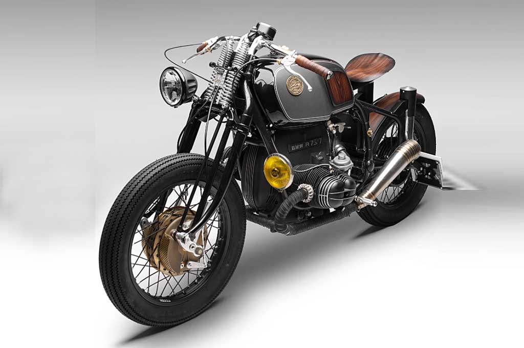 BMW R75/5 Klasik Rasa Bobber ala South Garage