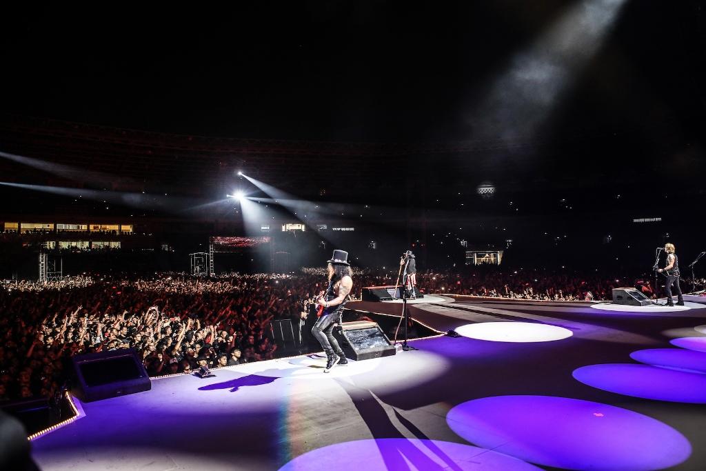 Reuni Guns N' Roses yang Tak Terlupakan di Jakarta