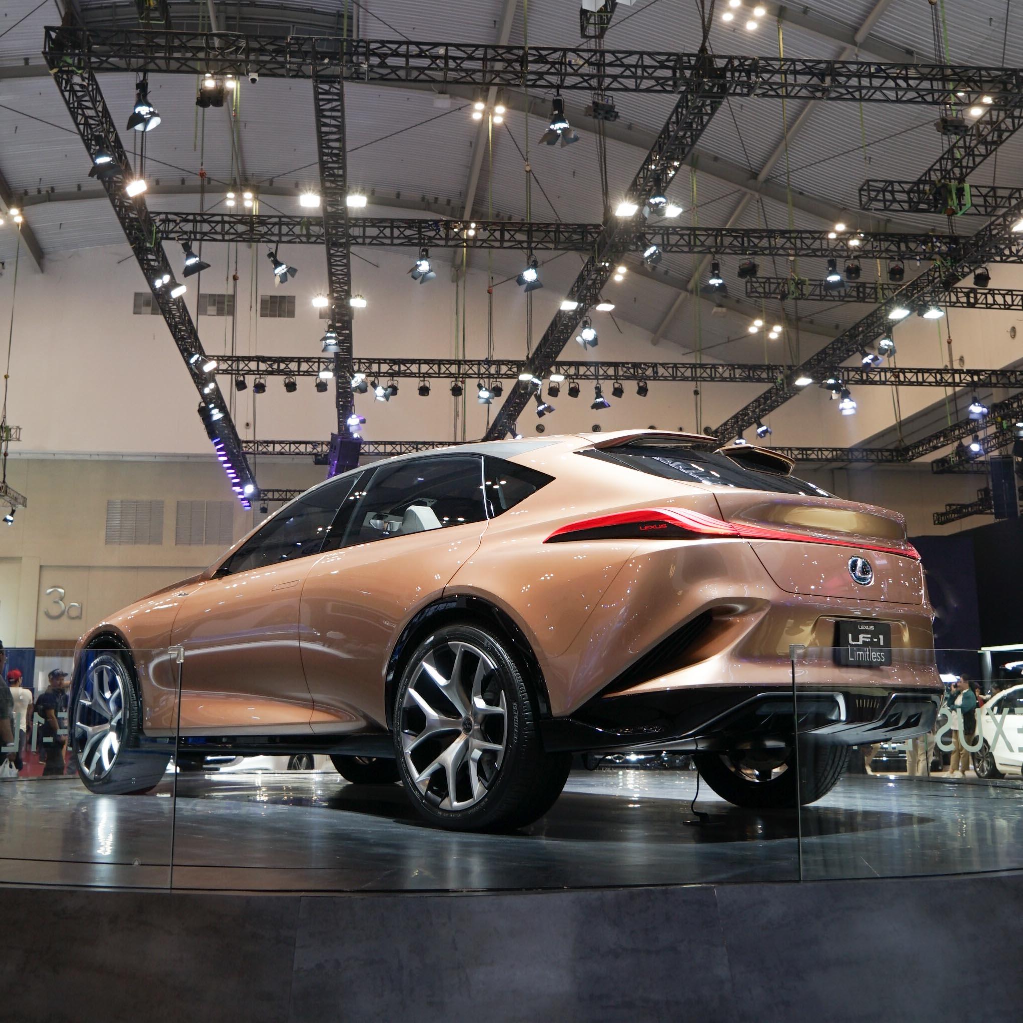 LF-1 Limitless Concept, Calon SUV Flagship Lexus