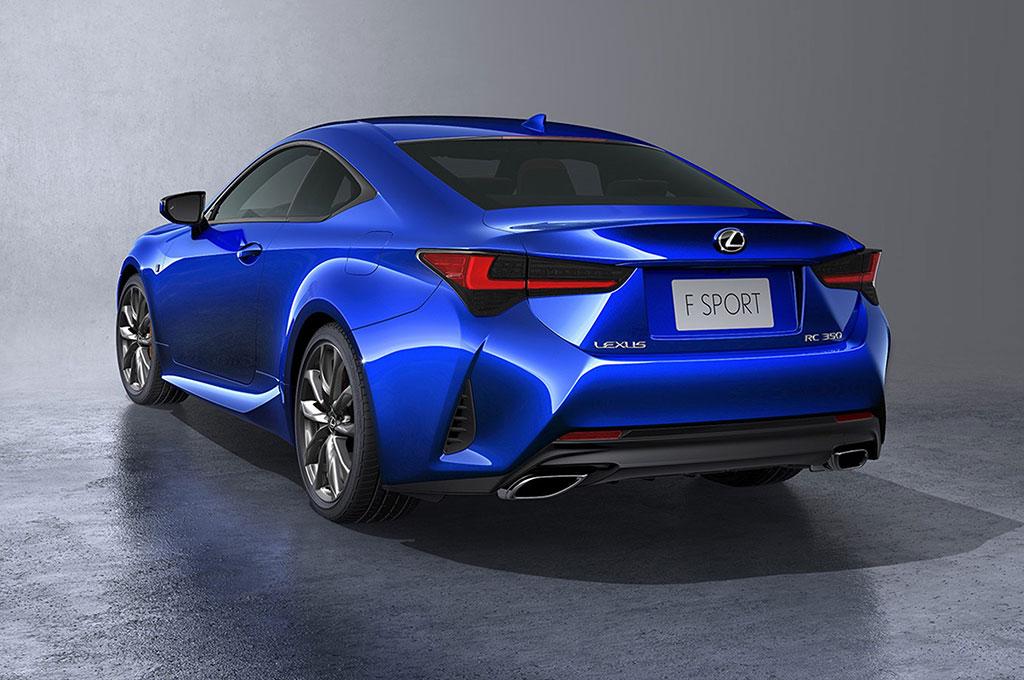 Tajamnya Tatapan New Lexus RC