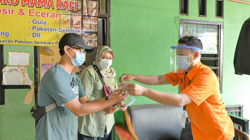 Dalam 7 Hari, 95% Bantuan Sosial Tunai  di Jakarta Telah Disalurkan oleh Pos Indonesia