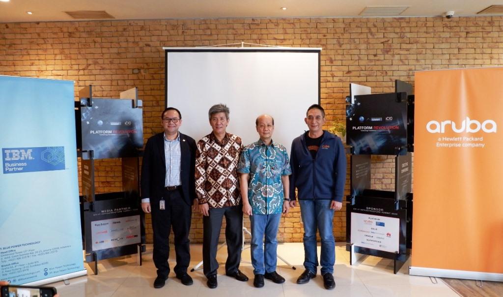 CTI IT Infrastructure Summit 2020 Kupas Revolusi Platform