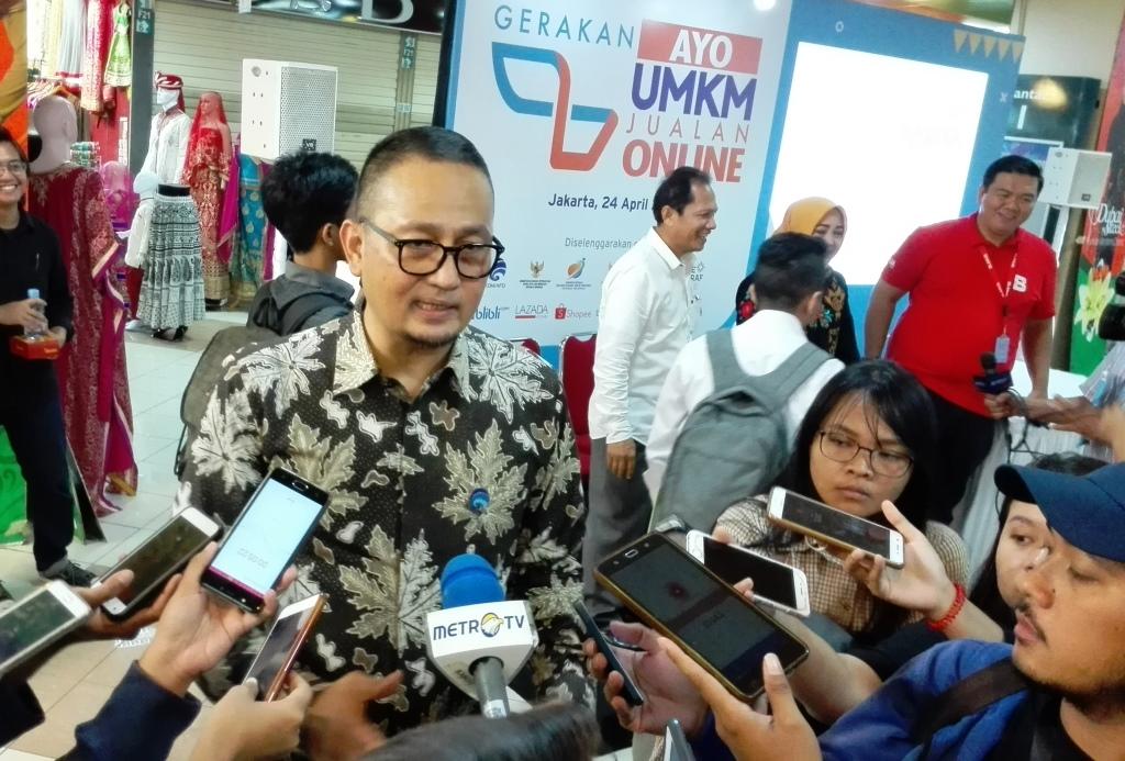 Kominfo Gandeng 6 Marketplace Dorong UMKM Jualan Online