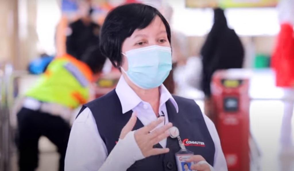 Penumpang KRL Mulai Disiplin Patuhi Protokol Kesehatan