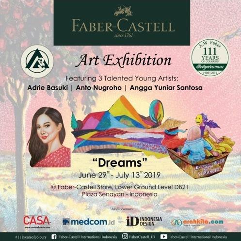 Faber-Castell Gelar Pameran Seni Dreams