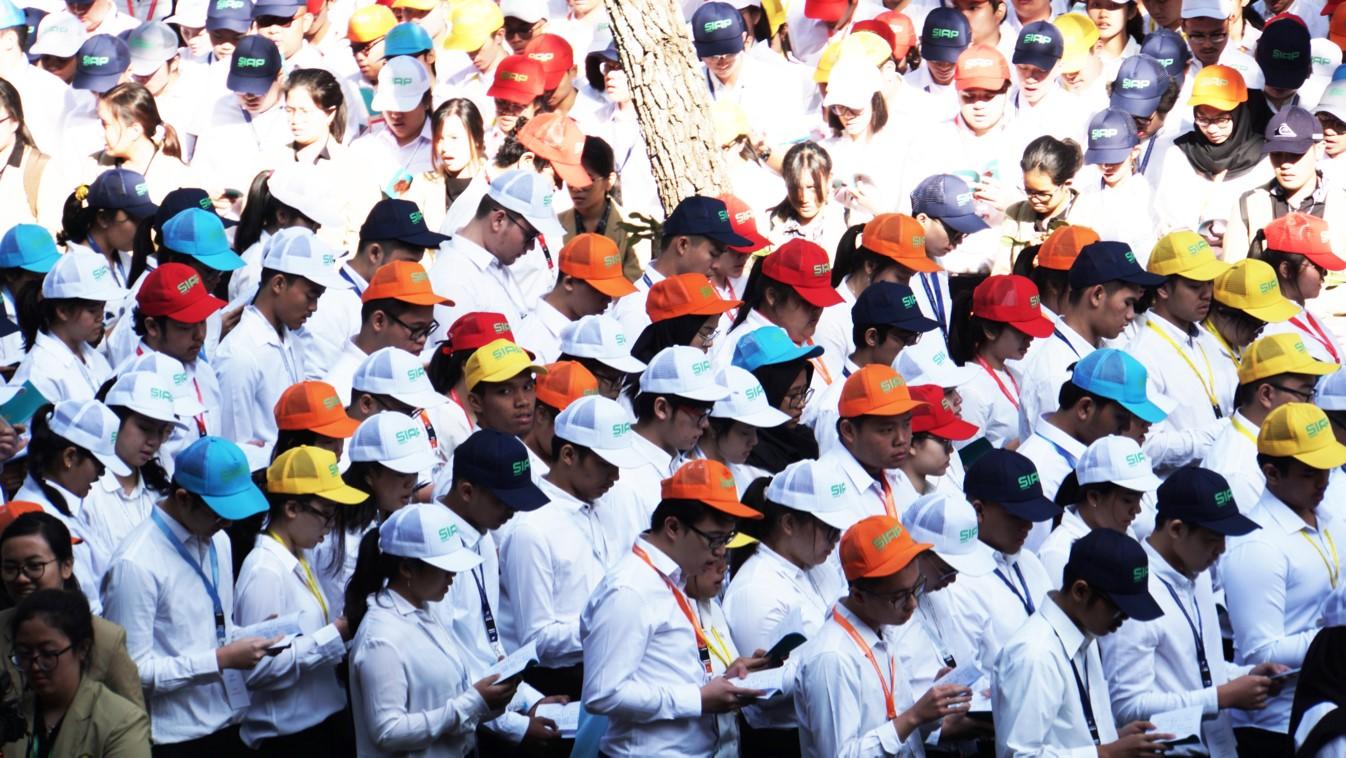 Ribuan Mahasiswa Baru UNPAR Ikuti Progam SIAP
