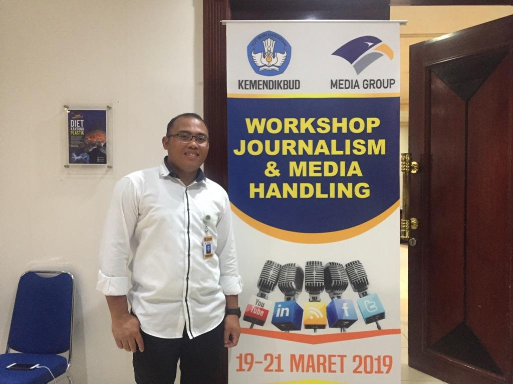 Staf Humas Kemendikbud Ikuti Workshop Jurnalisme di Media Group