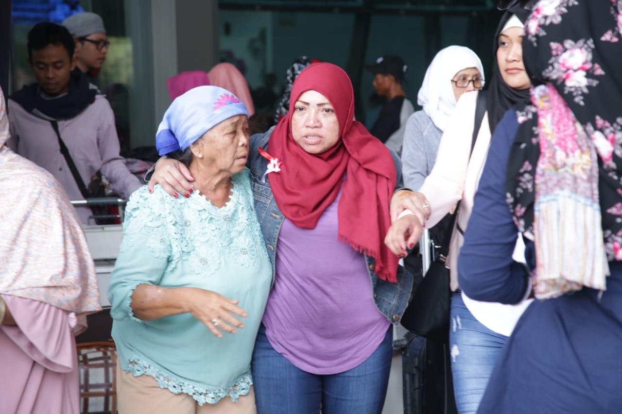Lagi, Puluhan Pekerja Migran Bermasalah Dipulangkan dari Yordania