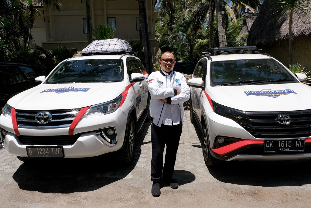 Dukung Pariwisata dan MotoGP 2021, Bakti Kominfo Bangun Infrastruktur TIK di Mandalika