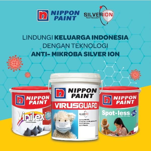 Nippon Paint Kembangkan Teknologi Cat Anti Virus Pertama di Indonesia