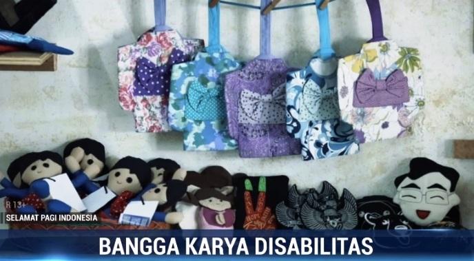 Ragam Karya Kaum Difabel di Rumah Kerajinan Precious One