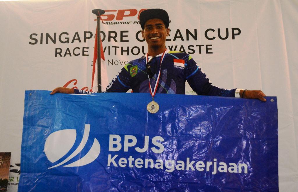 Atlet SUP Id-BP Jamsostek Raih Medali Perak Pada SOC 2019