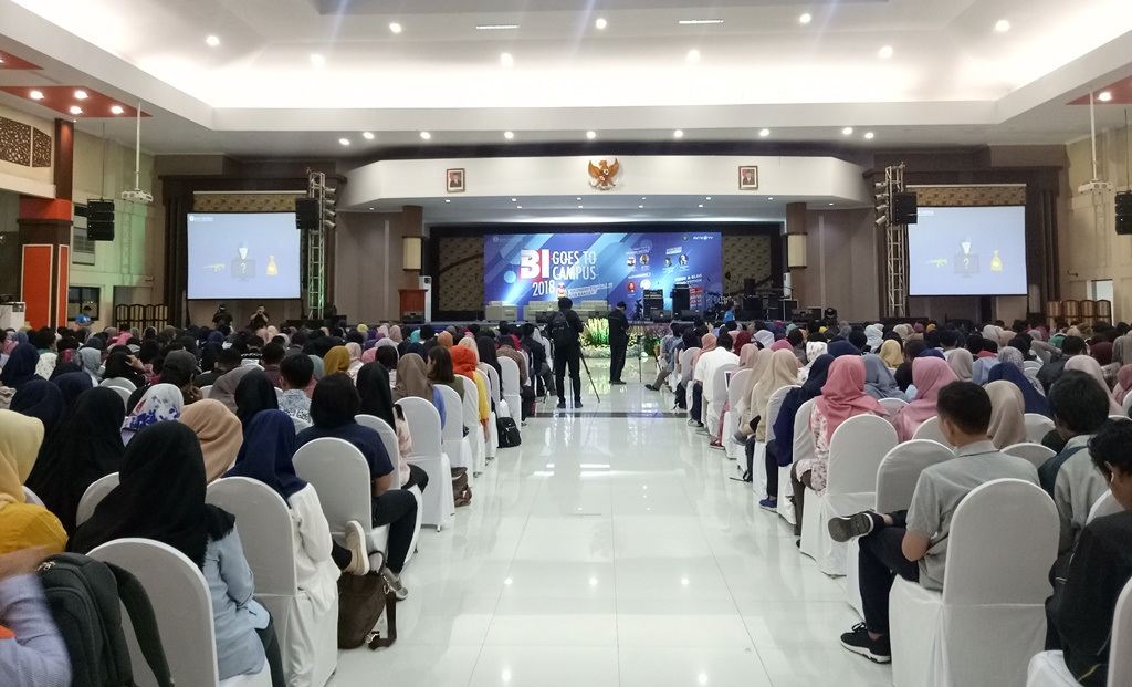 BI Goes to Campus Disambut Meriah di Malang