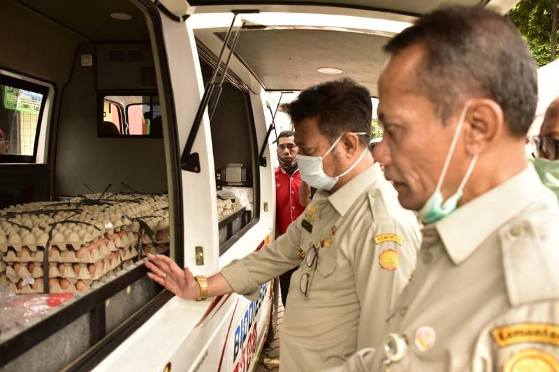 Jaga Stok Pangan, Kementan Kembali Melepas Operasi Pasar
