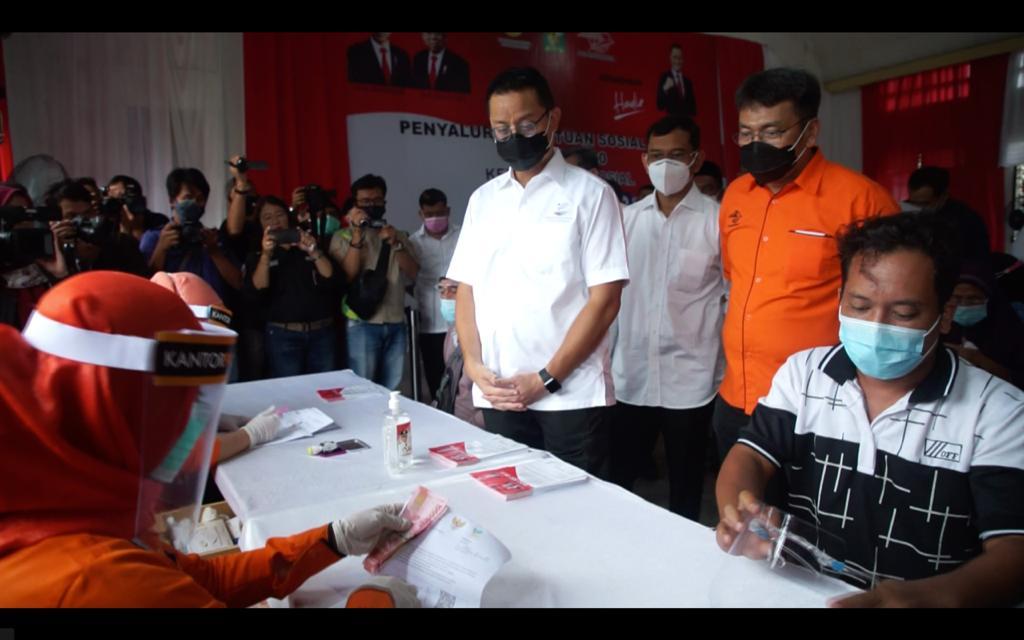Puluhan Ribu KPM di Simalungun Terima Bansos Tunai Kemensos