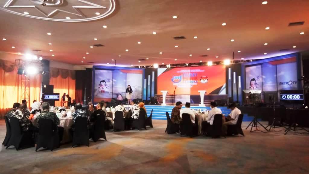 KPU Sulteng Sukses Gelar Debat Cagub-Cawagub Putaran Kedua