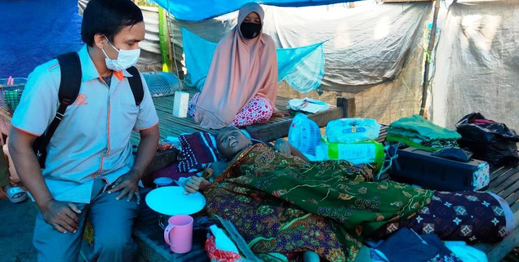 9.719 KPM yang Terdampak Gempa Mamuju Terima BST