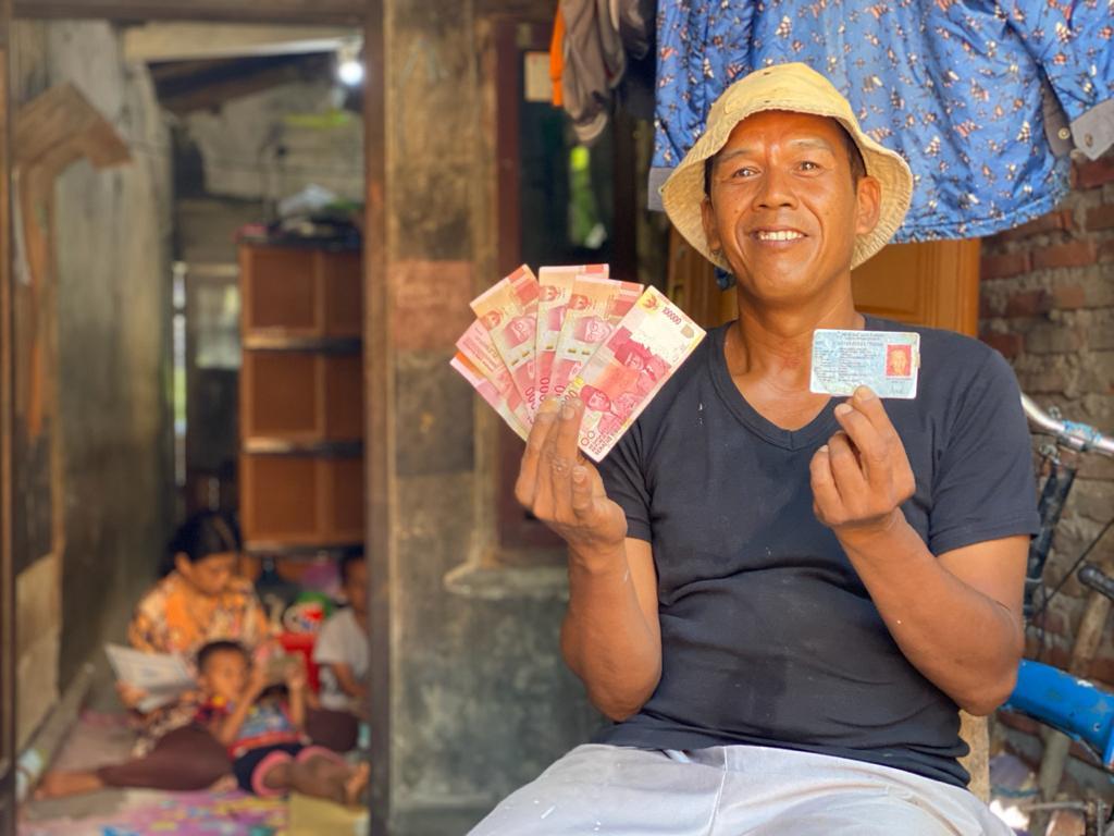 Dalam 7 Hari, 78,89% Bantuan Sosial Tunai Disalurkan di Seluruh Daerah