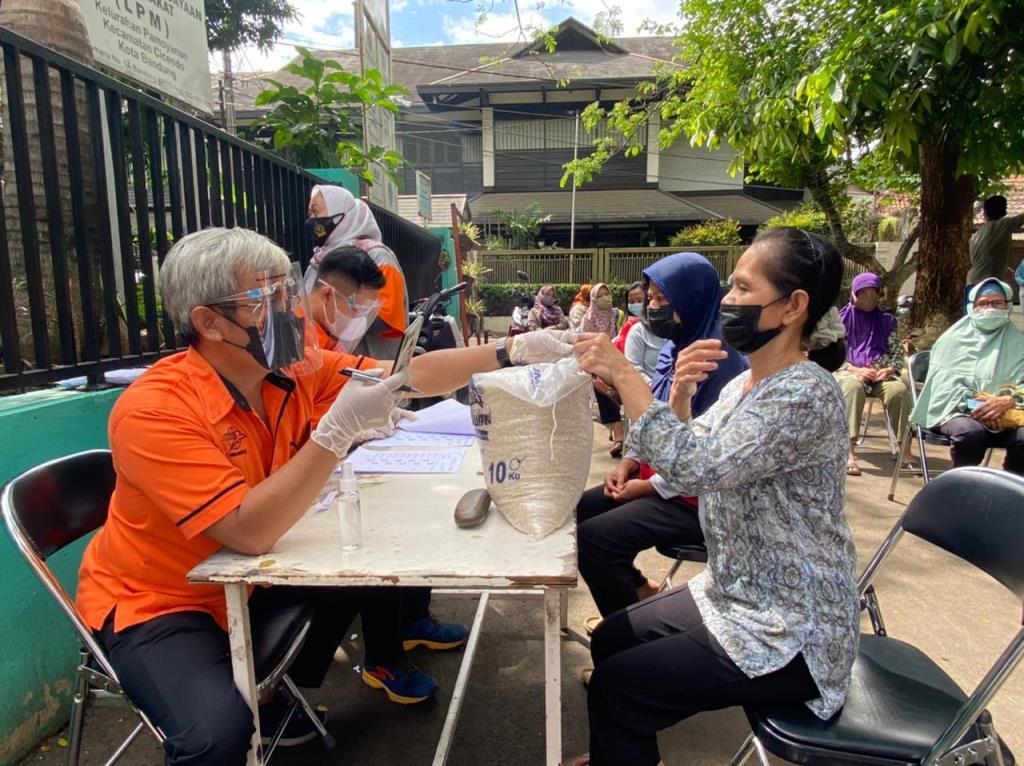 Beras Rusak di Pandeglang Langsung Diganti oleh Pos Indonesia dan Bulog