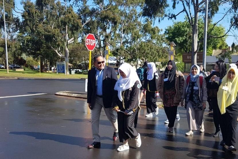 Siswa SMP dari Kabupaten Muba Berkesempatan Belajar di Australia