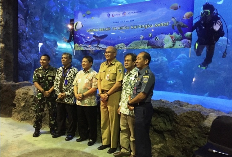 Seaworld Ancol dan LIPI Ajak Siswa Lestarikan Terumbu Karang