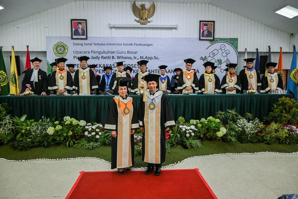 Prof Judy Retti Ditetapkan sebagai Guru Besar Teknik Kimia UNPAR