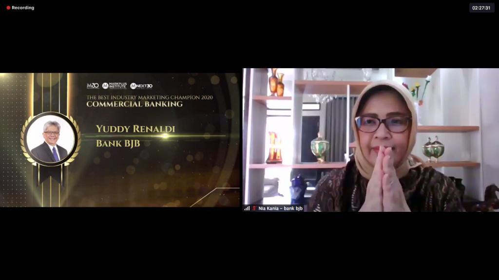 Dirut bank bjb Yuddy Renaldi Raih Penghargaan IMF