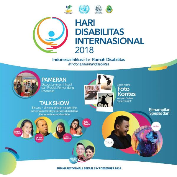 Kartu Penyandang Disabilitas akan Diluncurkan pada HDI 2018