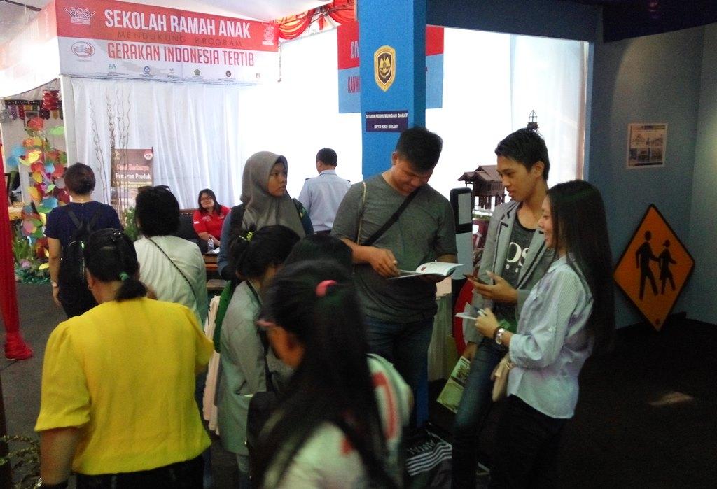 Masyarakat Antusias Kunjungi Pameran PKNRM 2018