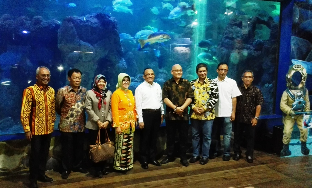 Bangun Akuarium Raksasa, Ancol Gandeng Kabupaten Berau