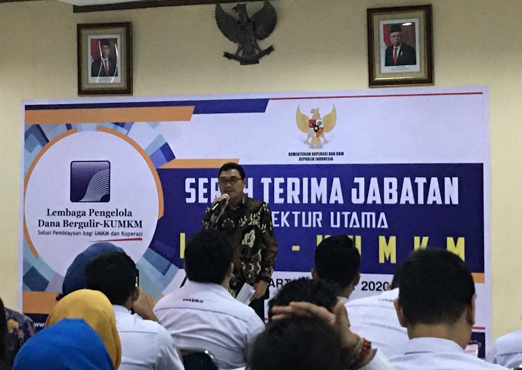 Supomo Jabat Dirut LPDB-KUMKM Gantikan Braman Setyo