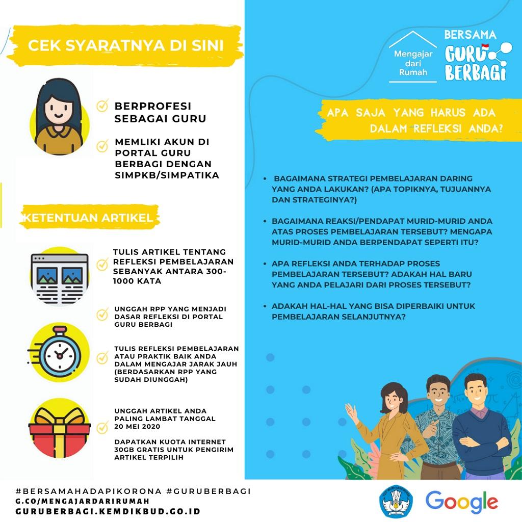 Google dan Kemendikbud Sediakan Paket Internet untuk Guru