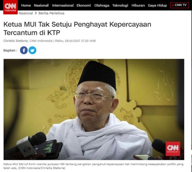 [Cek Fakta] Wapres Ma'ruf Amin Sebut Jokowi Ahli Menipu Rakyat? Ini Faktanya