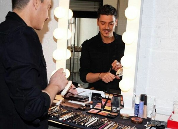Agnez Mo Didandani Make Up Artist Papan Atas Hollywood Mario Dedivanovic