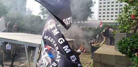 Usai Ribut dengan Polisi, Massa GMBI 'Serbu' KPK