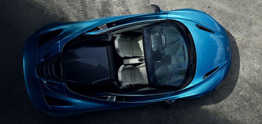 Eksotisme Supercar Convertible McLaren 720S Spider