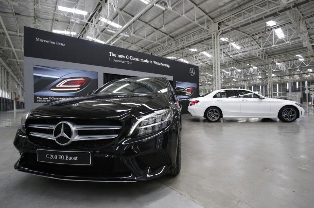 Mercedes-Benz Pastikan New C-Class Rakitan Bogor