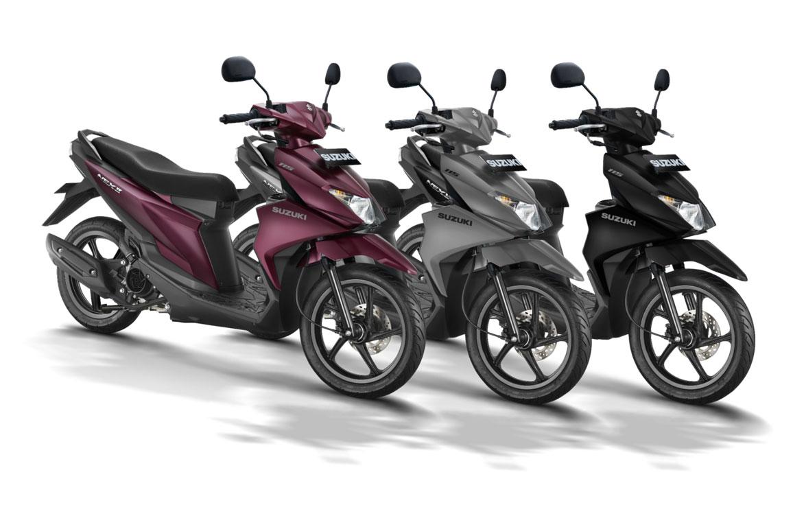 Skutik Termurah Suzuki Bersolek, Harga Masih Rp16 Jutaan