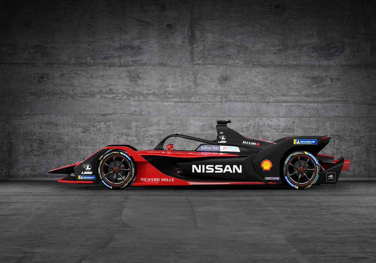Mobil Formula E Milik Nissan, Kini 'Pakai' Kimono