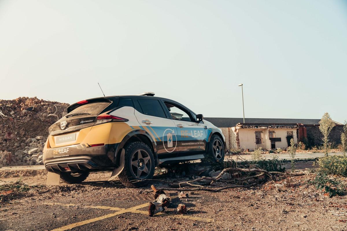 Mobil Listrik Ini Jadi Spesialis Di Area Bencana