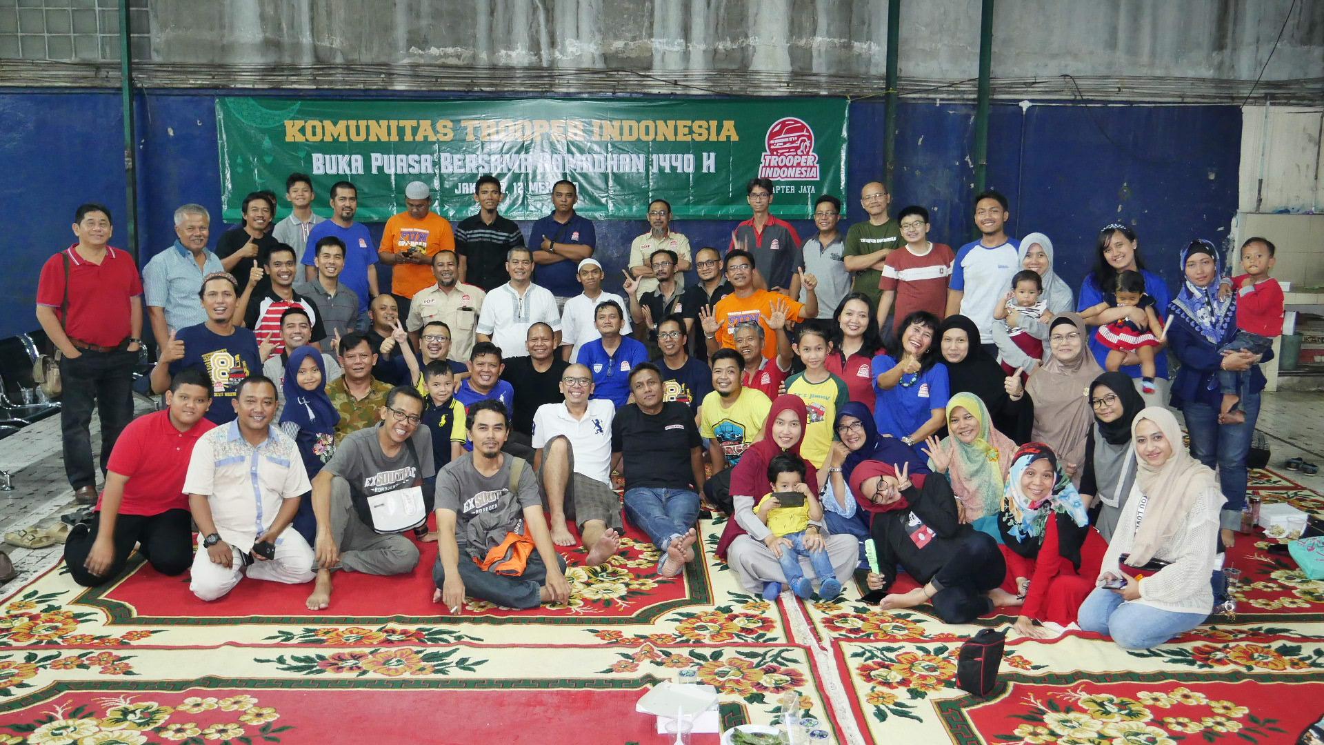 KTI Chapter Jaya Pilih Bukber Sambil Rencanakan Touring