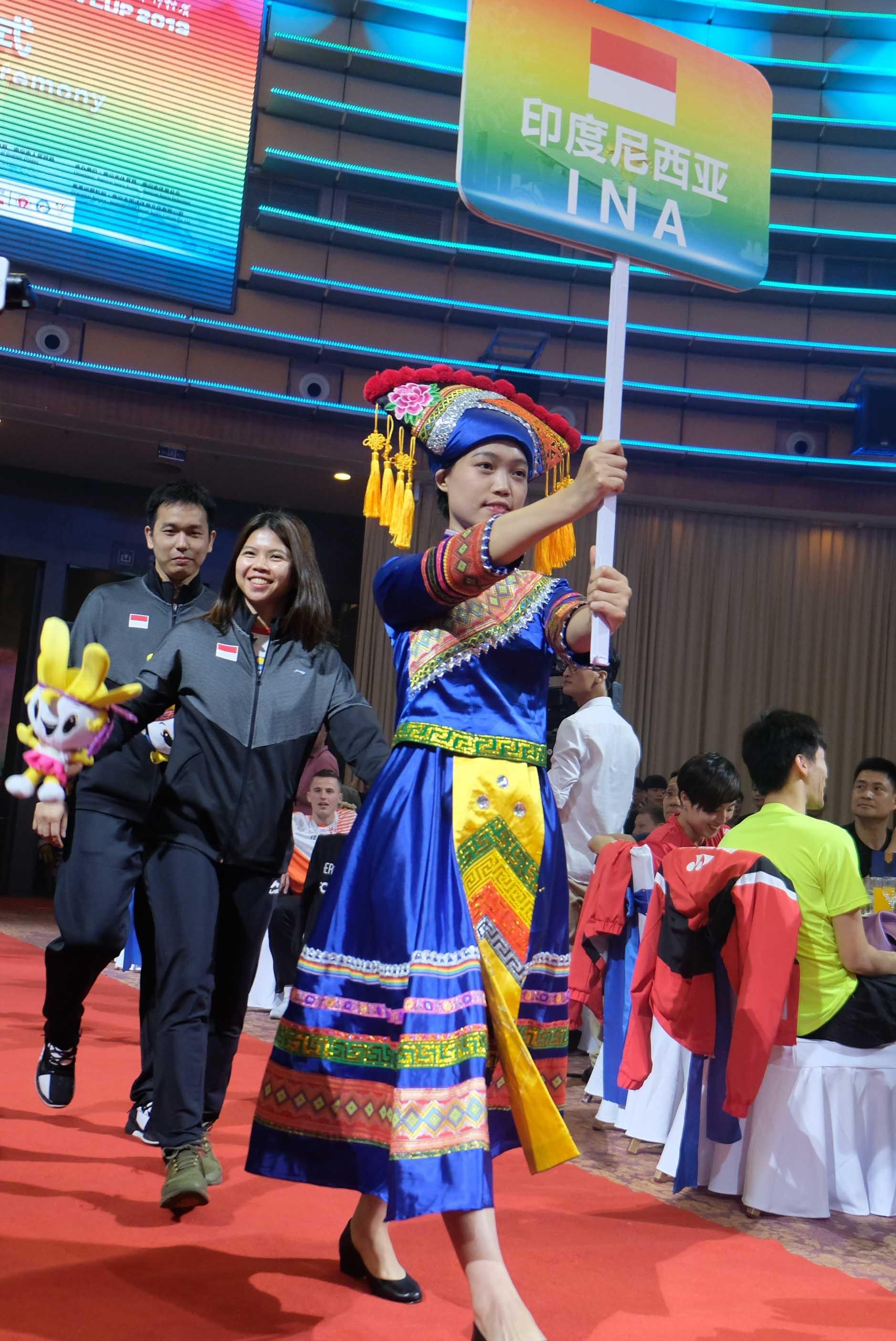 Seremoni Pembukan Piala Sudirman 2019 Berlangsung Megah