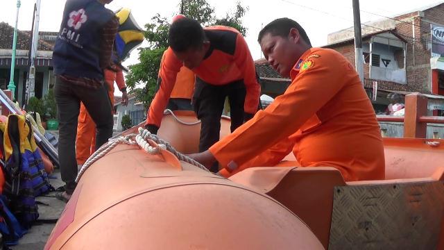 Polisi dan SAR Brebes Bersiap Hadapi Bencana