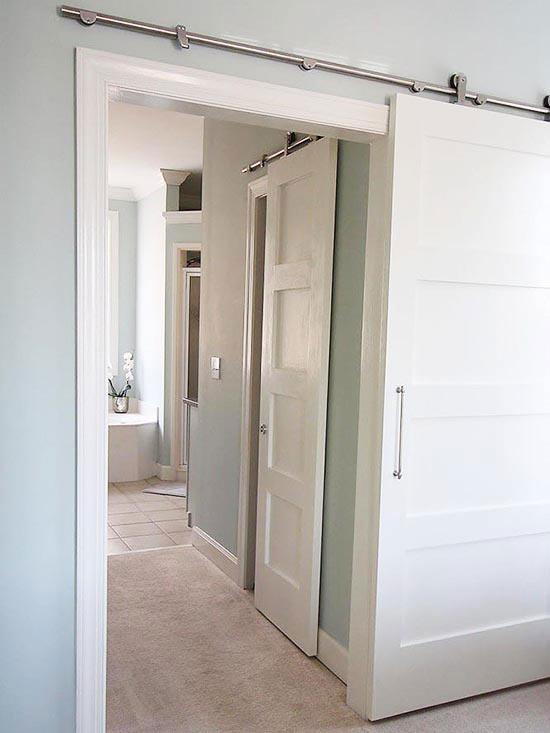 Desain Pintu Geser Ala Gudang Di Rumah