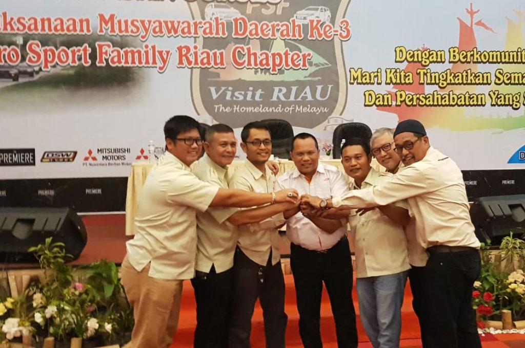 Konsolidasi PSF Riau Chapter di Awal 2019