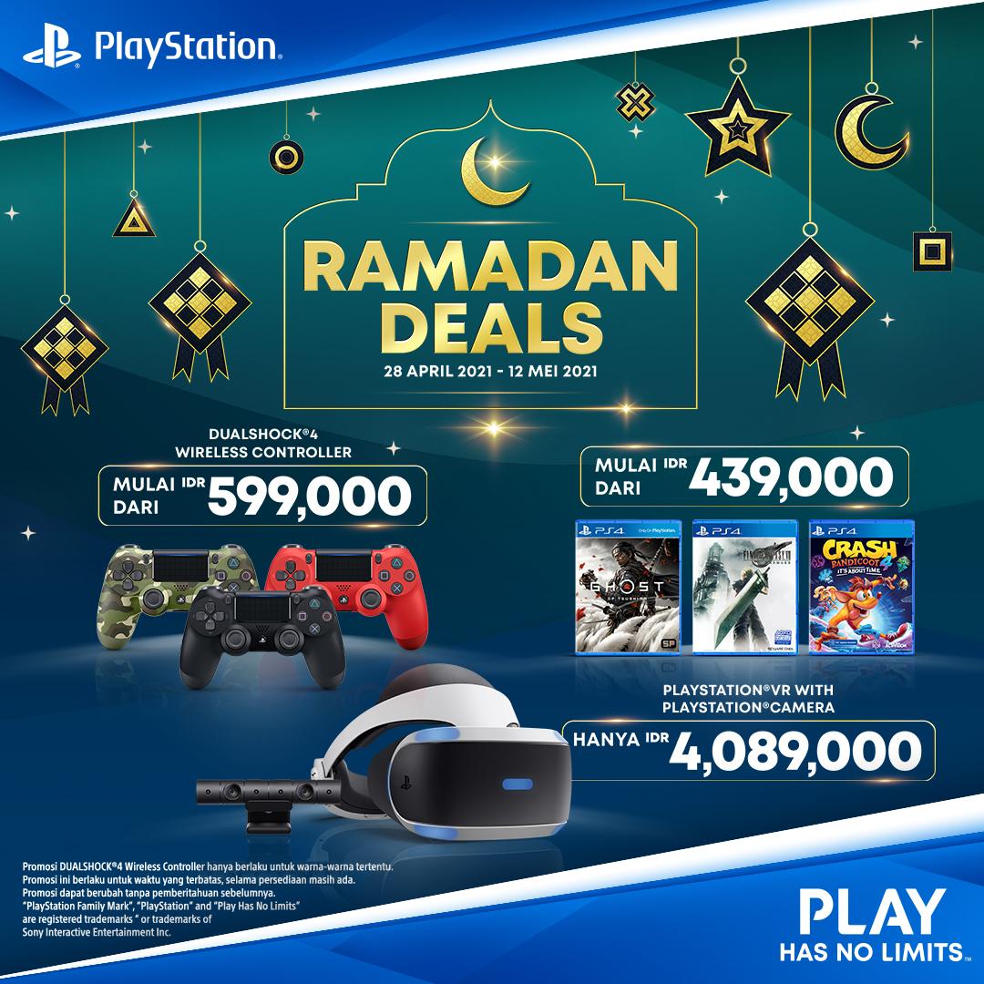 Sony PlayStation Gelar Diskon Aksesori dan Game Sepanjang Ramadan