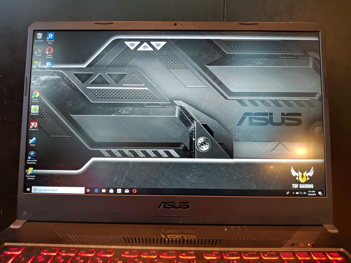 ASUS TUF Gaming FX705, Sekelas ROG 17 Inci