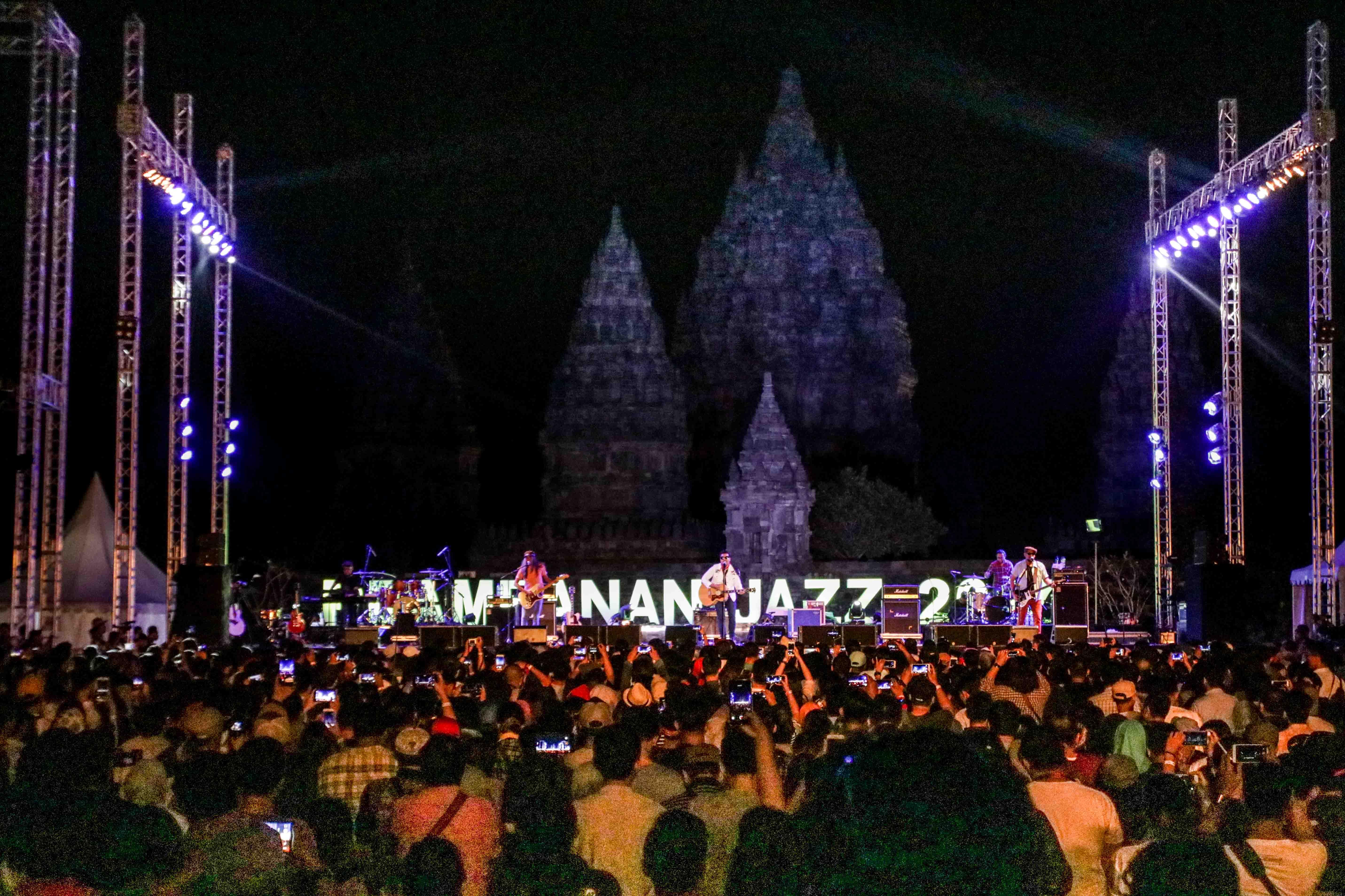 Foto Ragam Momen di Prambanan Jazz 2017